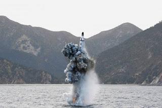 Lawan Rudal Kapal Selam Korut, AS, Korsel dan Jepang Latihan Perang
