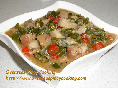 Bicol Express an authentic Bicolano