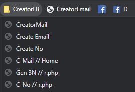 JavaScript - Creator Account Facebook Random Email