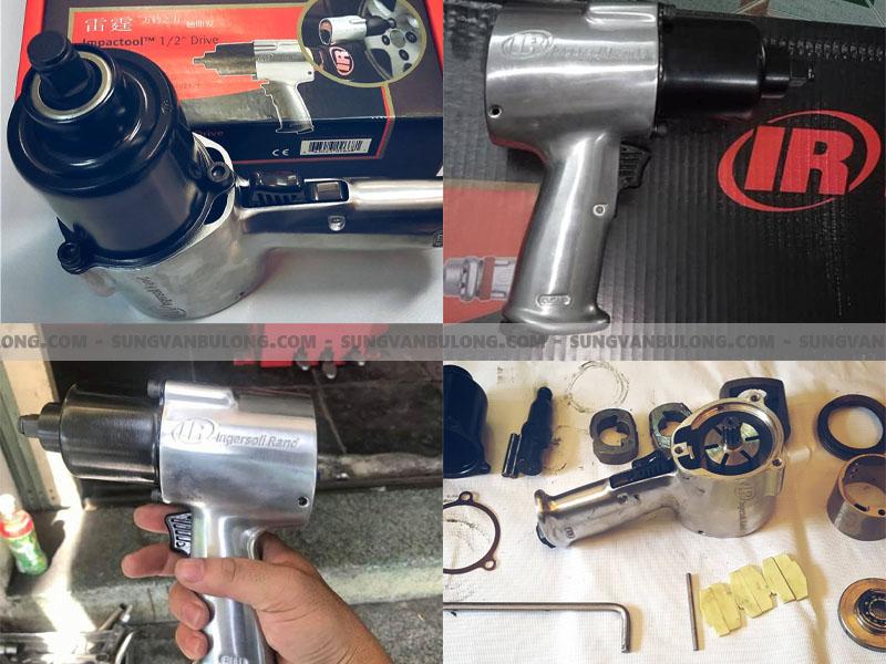 máy hơi mở ốc 2 búa, máy 2 búa mở ốc, máy mở ốc khí nén 2 búa, máy mở ốc dùng hơi 2 búa