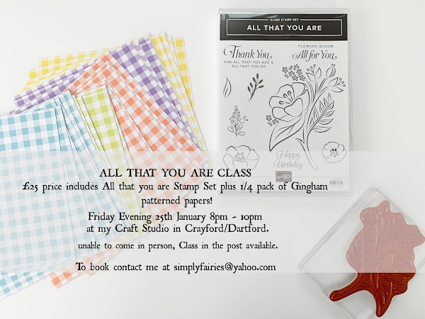 Upcoming Card Making Class Events!