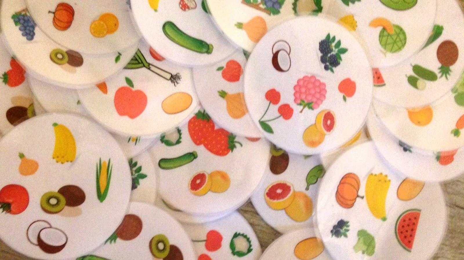 jeu anglais-dobble-fruits et légumes