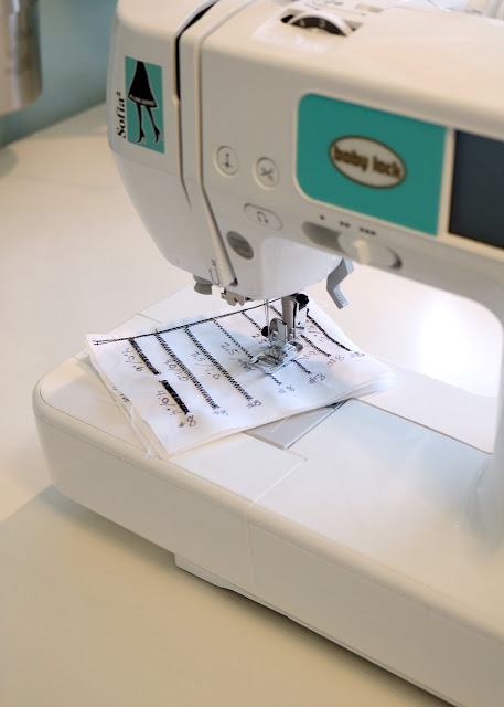 Make a stitch catalog to remember the settings for your favorite stitches!  From Andy of A Bright Corner