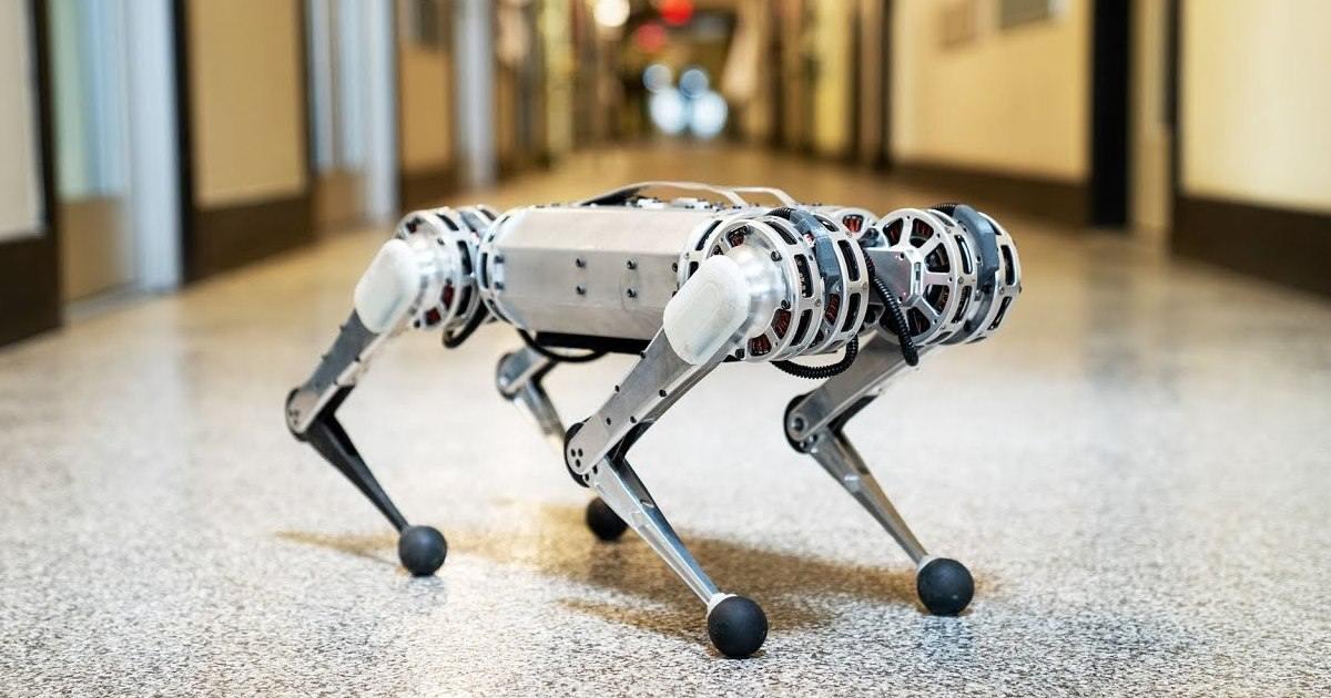 Mini Cheetah - Novo robô desenvolvido por pesquisadores do MIT