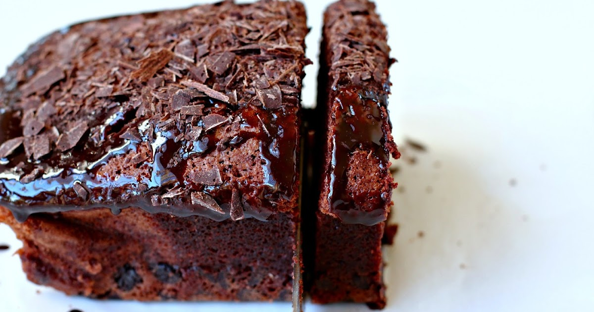 Chocolate Shards And Loaf Cake