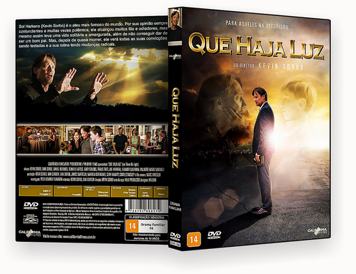 CAPA DVD – Que Haja Luz DVD-R