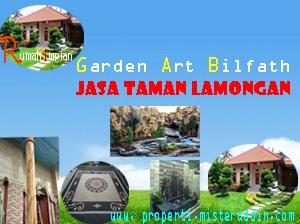 Rumah Impian Bersama Garden Art Bilfath Jasa Taman Lamongan