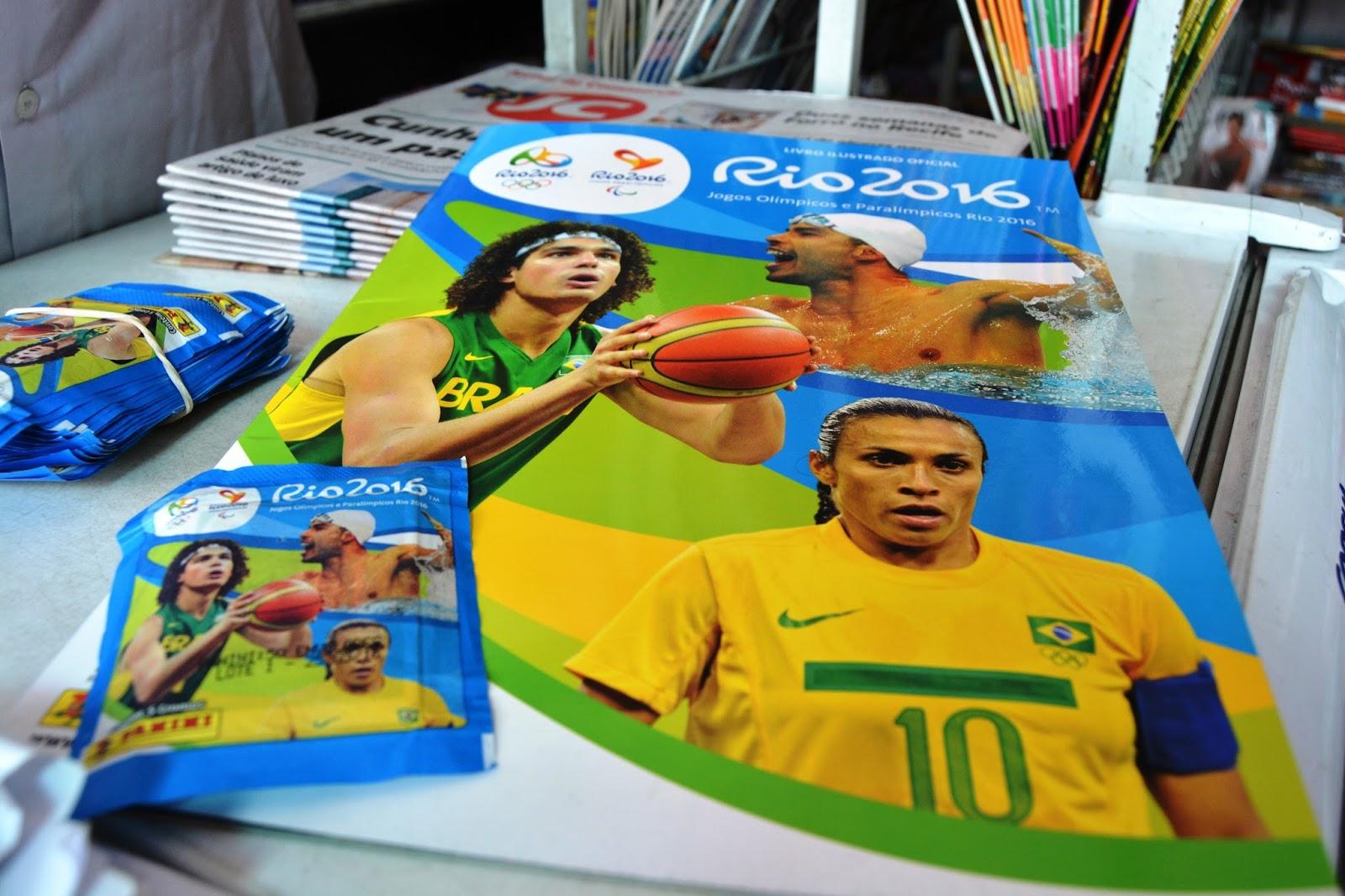 8700f20a9f7bd Álbum de figuras das Olimpíadas e Paralimpíadas chega com atraso em ...