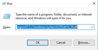 Télécharger D3dx10_39.dll Fichier Gratuit Installer