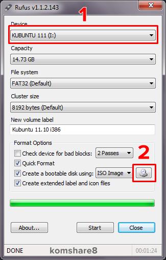 Cara Membuat Bootable di Flashdisk Menggunakan Rufus