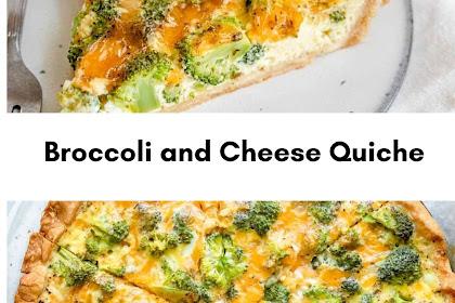 Broccoli and Cheese Quiche