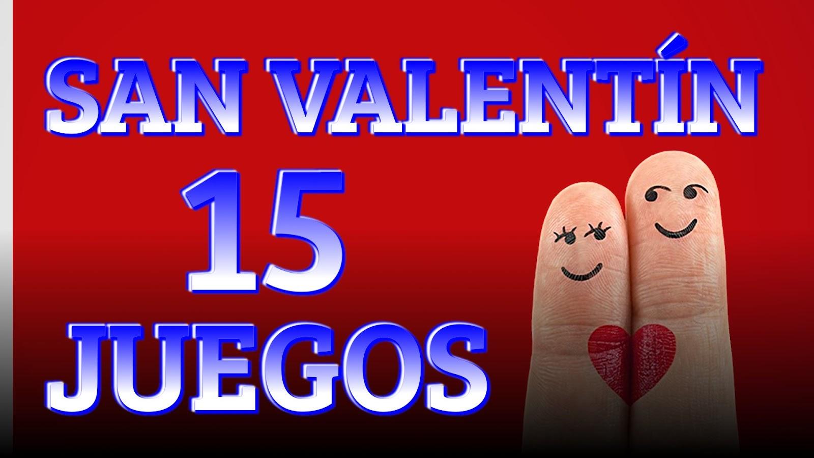 15 Juegos y actividades para San Valentín