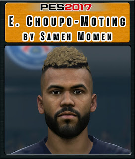 PES 2017 Faces Eric Maxim Choupo-Moting by Sameh Momen