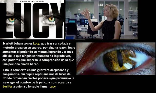 Resultado de imagen de Scarlett Johansson ojos reptilianos película LUCY