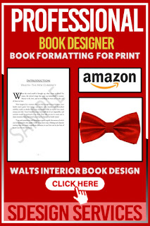 Professional Book Designer - Format your book for print layout for amazon KDP with style Adobe