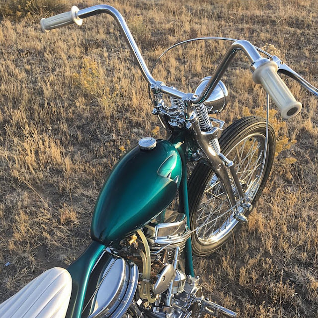 Harley Davidson Panhead 1951 By Small City Cycles Hell Kustom