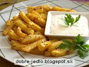 Kalerábové hranolky - recept