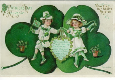St Patrick's day vintage images 2018