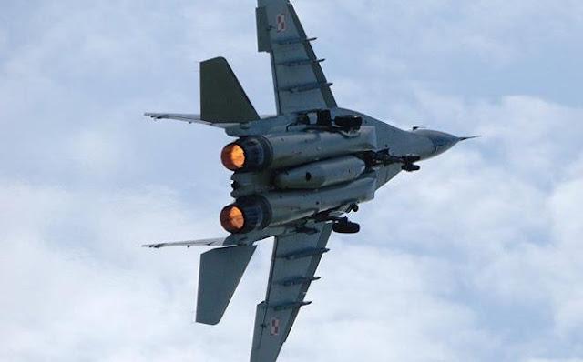 Tiêm kích MiG-29 Nga vừa rơi