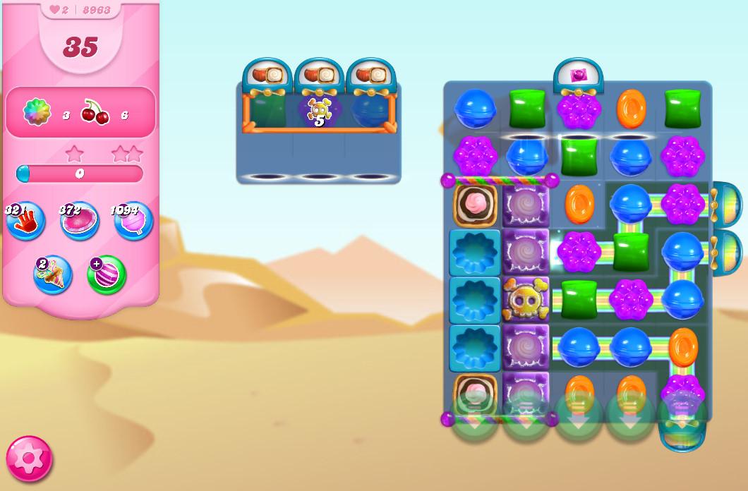 Candy Crush Saga level 8963