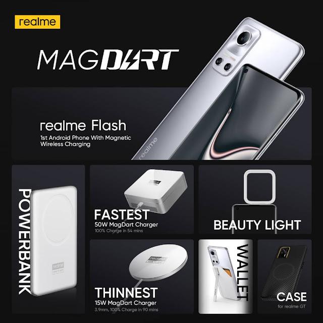 Realme 50W MagDart Charger, Realme Flash