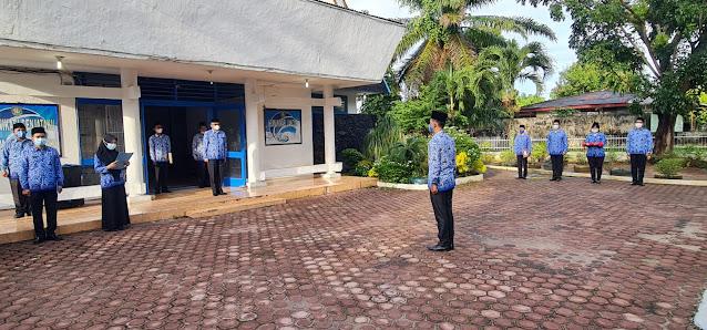 Kadis Kominfo Kabupaten Asahan Gelar Upacara Peringatan Kemerdekaan RI Ke-76