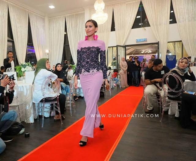 Pertunjukan fesyen hari raya 2018