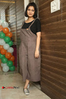 Swathi Reddy Pos in Jumpsuit at London Babulu Movie First Song Launch .COM 0012.jpg