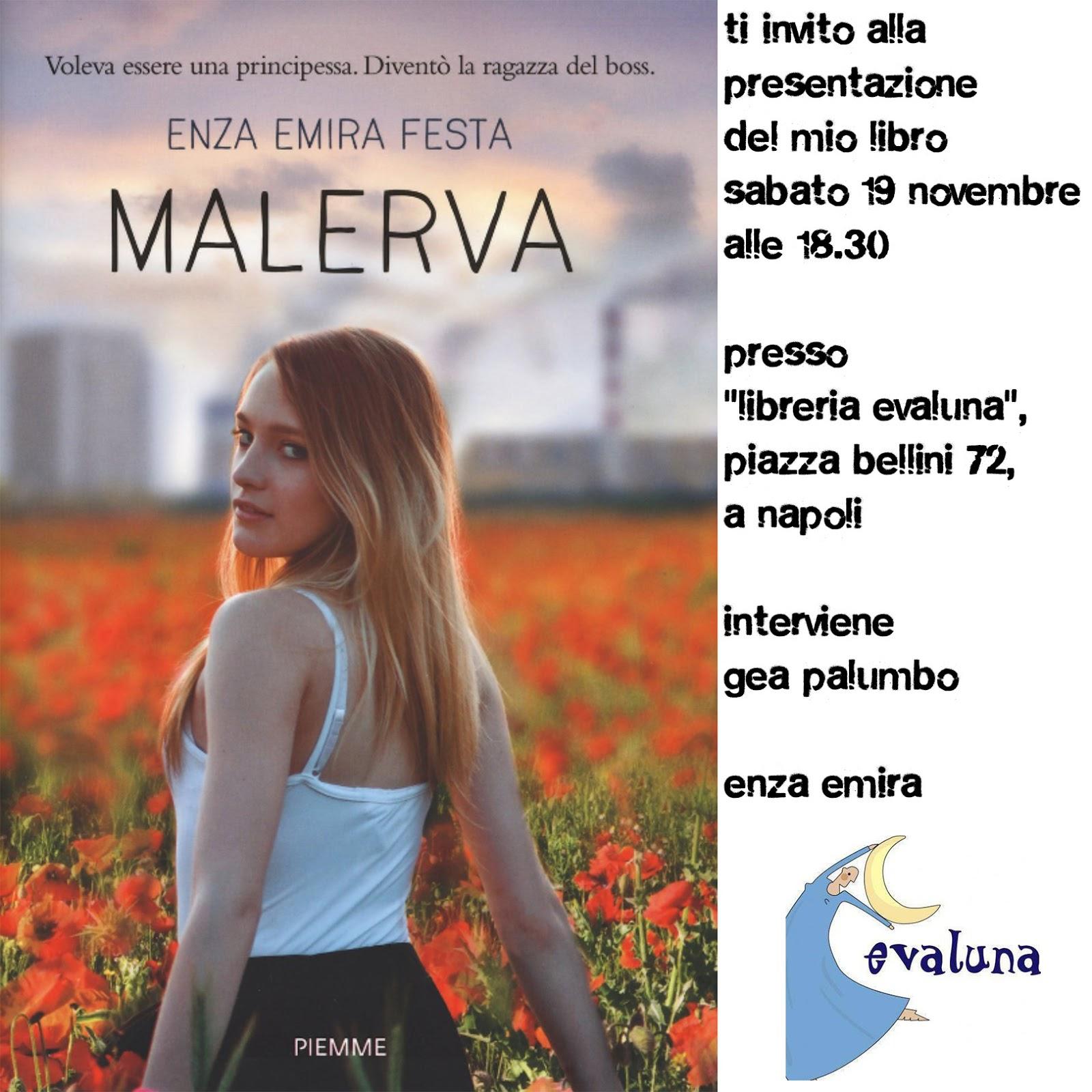 Presentazione del romanzo di camorra Malerva