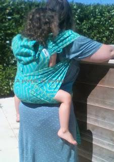 Wrapidil buzzidil porte-bébé meï-taï évolutif bébé bambin portage bretelles déployables