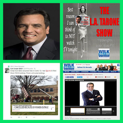 Happy St. Patrick's Day--Joe Peters for Attorney General interview with L.A. Tarone on WILK Newsradio 103.3 FM