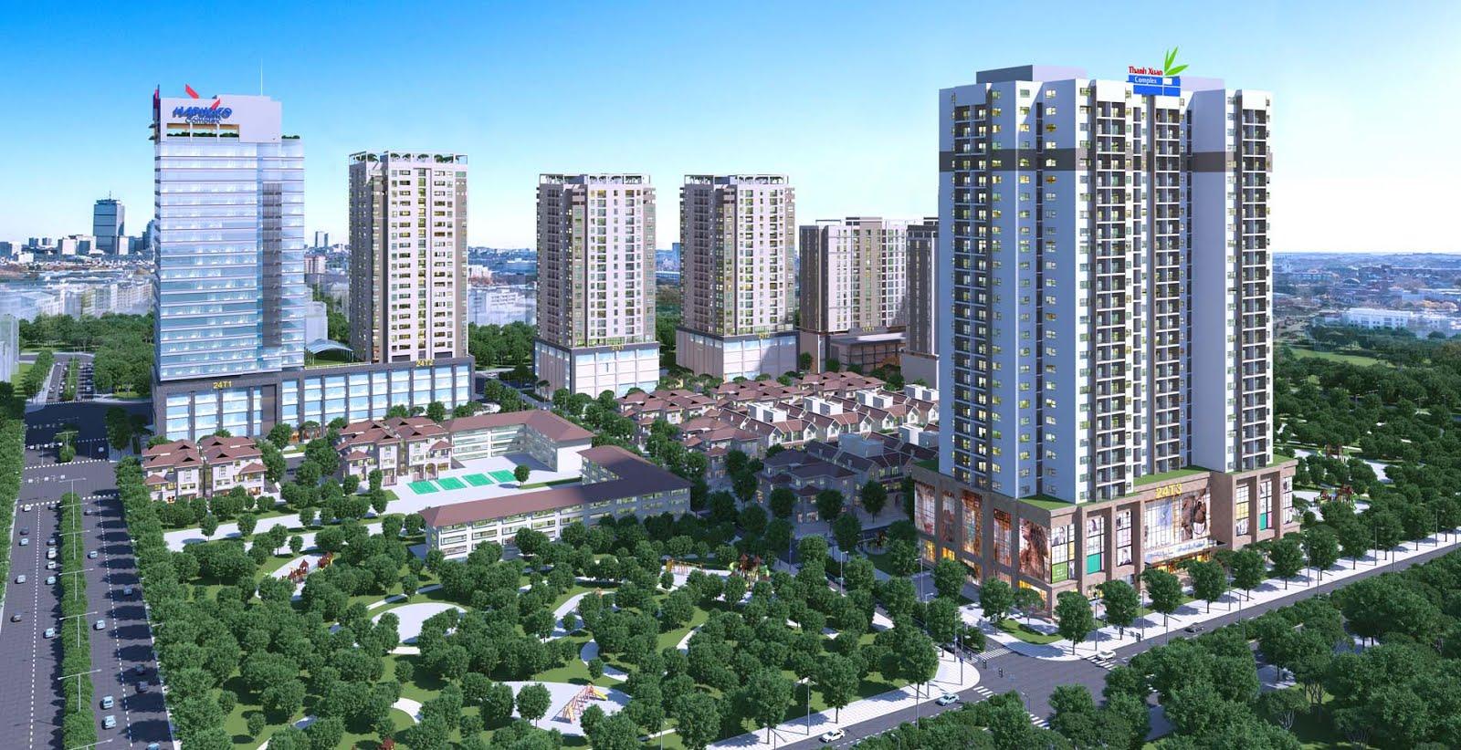 chủ đầu tư chung cư thanh xuân complex