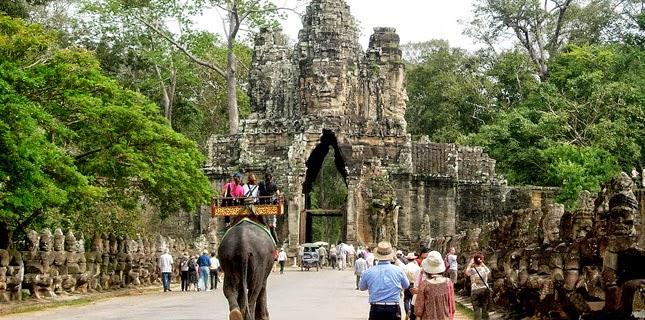 Angkor - lac Tonlé Sap 1 Jour et une demi-journée