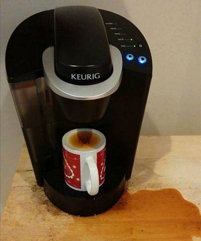 Так виглядає ранкова кава, коли не виспишся.