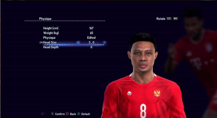 Evan Dimas Face For PES 2013