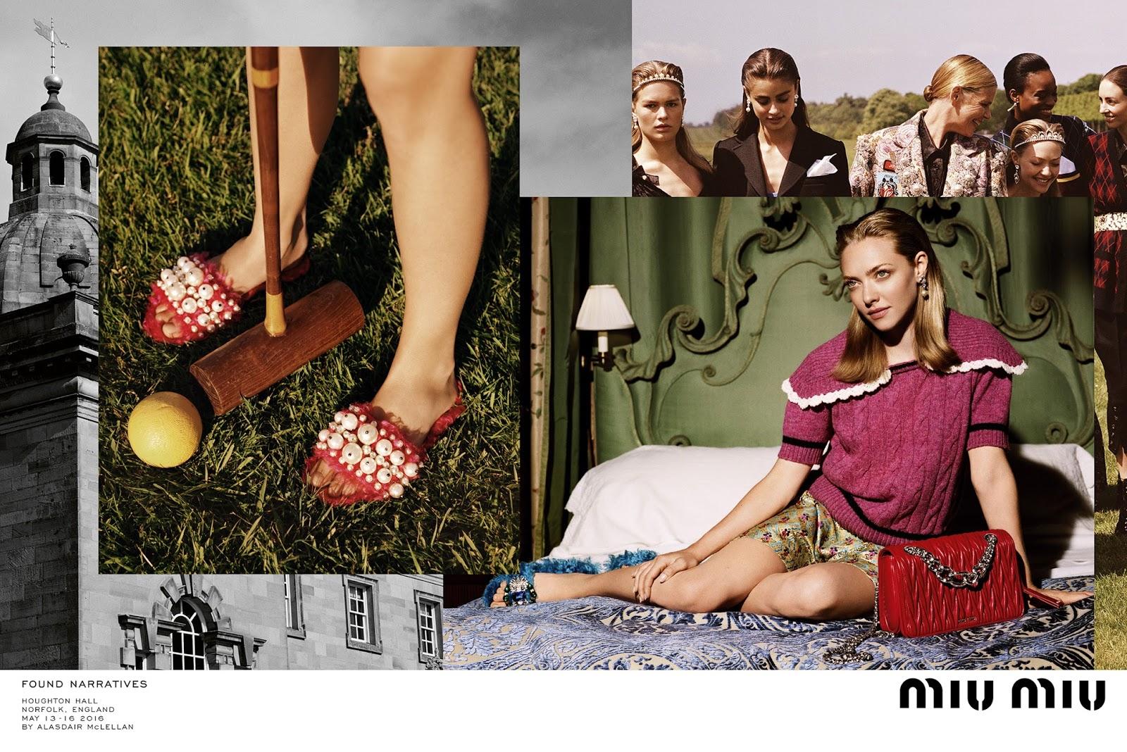 Eniwhere Fashion - Amanda Seyfried - Miu Miu