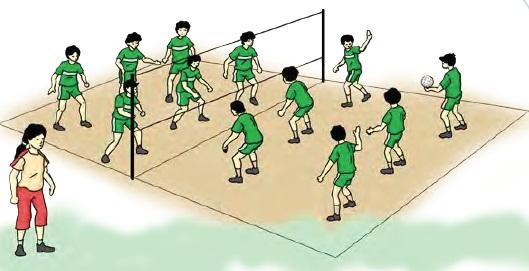 Variasi Latihan Bolavoli Dengan Peraturan Yang Dimodifikasi Teknik Dasar Olahraga