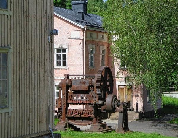old motor Billnäs