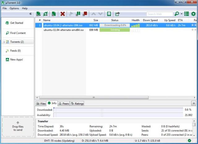 Download uTorrent For Windows