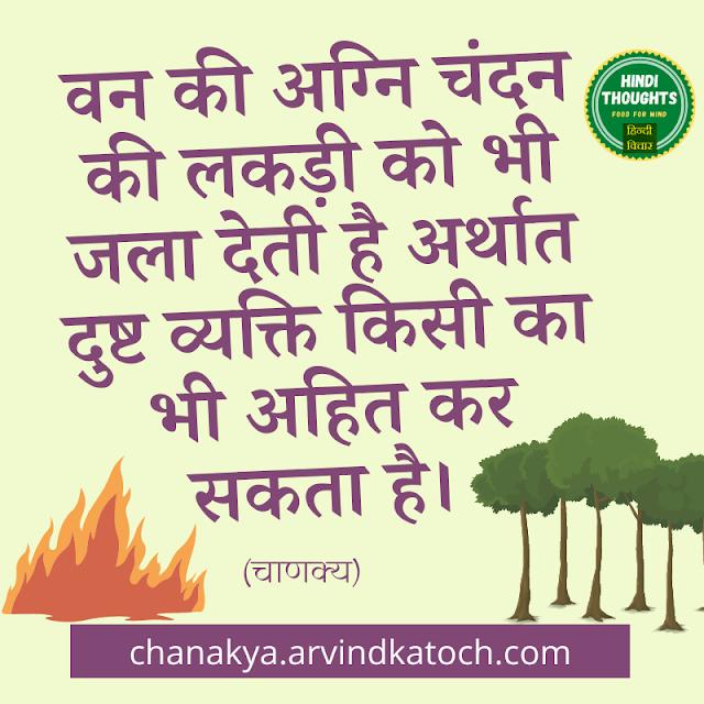 Person,Sandalwood,Chanakya Niti,Fire,Forest,