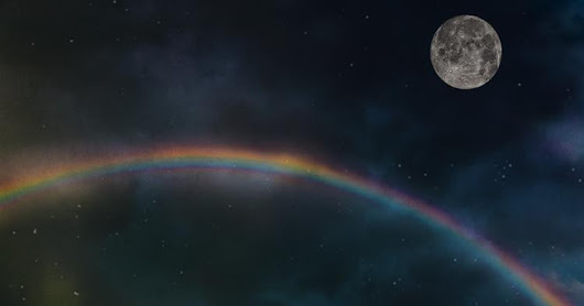 Rainbows do occur at night - Moonbow
