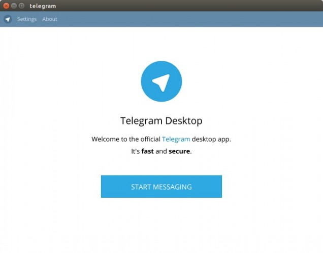 Ubuntu Alive, Explore, And Learn : Telegram Desktop 0 8 54