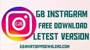 GB Instagram latest version anti-ban apk for android 2020.
