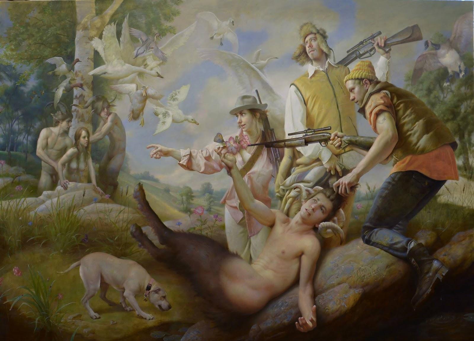 Erotic paintings of andrzej malinowski - 2 3