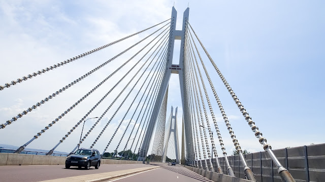 The bridge between Brazzaville and Kinshasa will also look like this