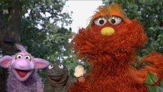 Murray and Ovejita introduce the letter of the day I.Sesame Street Episode 4420, Three Cheers for Us, Season 44