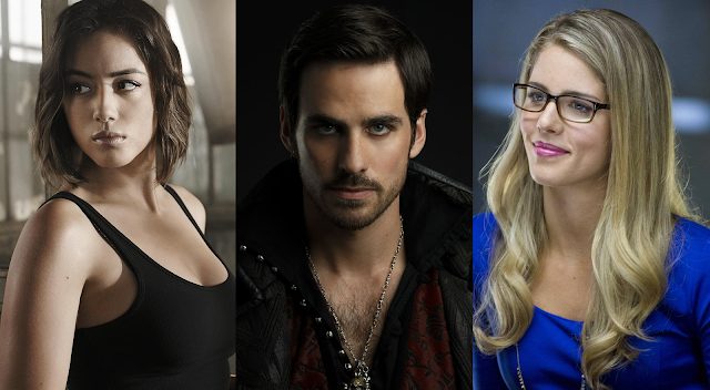 daisy johnson captain hook felicity smoak