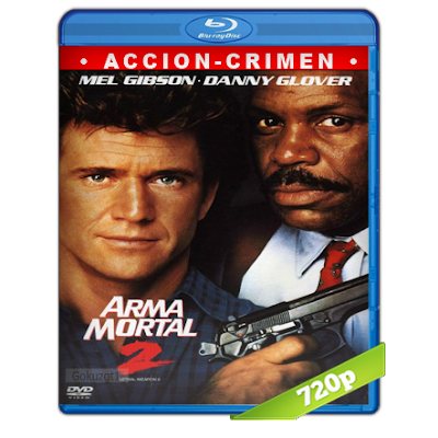 Arma Mortal 2 (1989) BRRip 720p Audio Trial Latino-Castellano-Ingles 5.1