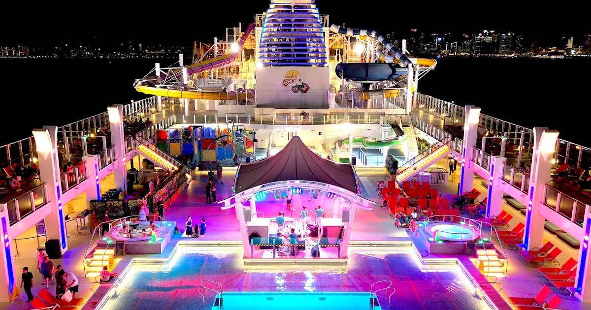 Dream Cruise Line S Genting Dream New Itineraries Kaiting Hearts
