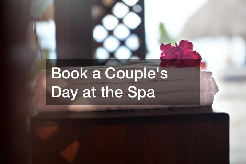 Book a Couple's Day at the Spa
